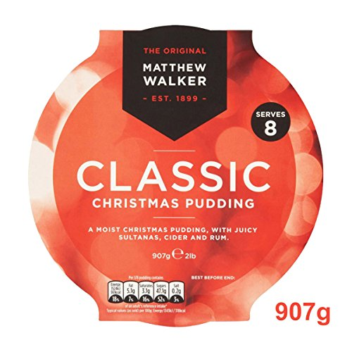 Matthew Walker Classic Christmas Pudding (1 x 907g) - Large Size Test