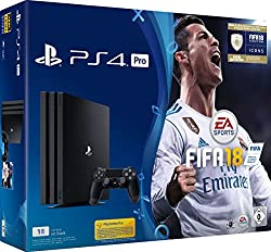 PlayStation 4 Pro console (1TB) incl. FIFA 18