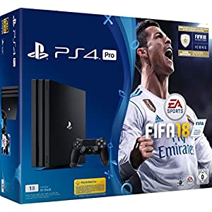 PlayStation 4 Pro – Konsole (1TB) inkl. FIFA 18