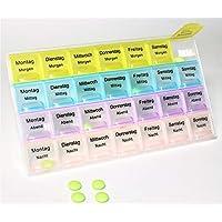 K&B Vertrieb Pillendose Pillenbox Tablettendose Tablettenbox Medikamentendose Medikamentenbox preisvergleich bei billige-tabletten.eu