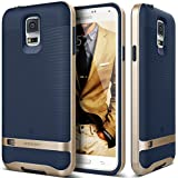 Galaxy S5 Case, Caseology� [Wavelength Series] Textured Pattern Grip Cover [Navy Blue] [Shock Proof] for Samsung Galaxy S5 - Navy Blue