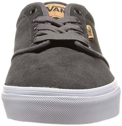 new concept aefd4 5dcc0 Vans Atwood Deluxe Suede, Baskets Basses Homme Gris (SuedePewterBlanket)  ...