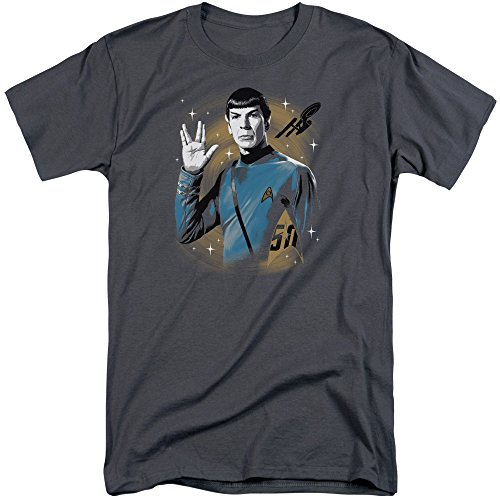 Star Trek Herren T-Shirt Anthrazit
