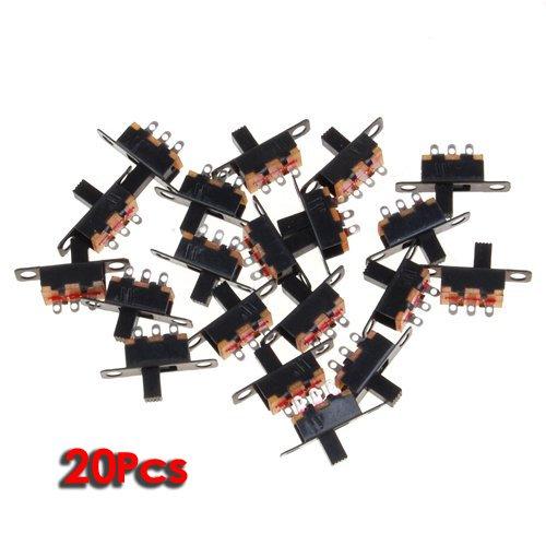 Schwarzee Mini-Format SPDT Schiebeschalter -