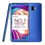 LEAGOO M9,18 9 Smartphone Android 7.0 Smartphone 5,5 Zoll -Blu