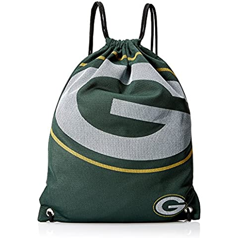 NFL Green Bay Packers 2015 Jersey Drawstring Backpack, Green by Forever Collectibles