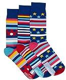 3 chaussettes dépareillées - Hommes Chaussettes - George
