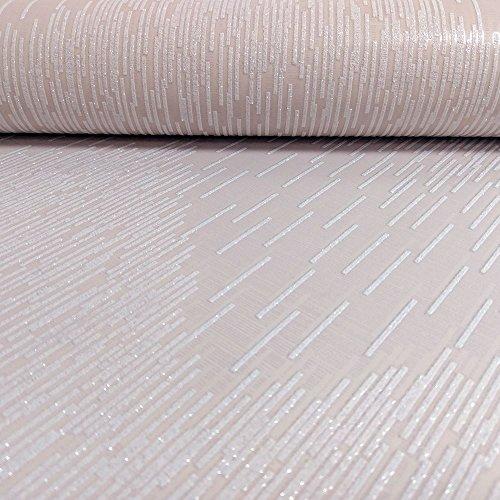 65411 - Midas Shimmering Glitter Galloni Pink Wallpaper Holden Decor