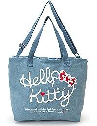 Hello Kitty 2WAY big canvas tote bag