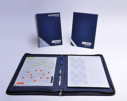 bfp Chefplaner Fußballtrainer-Komplettpaket (Trainermappe, Block, Arbeitsbuch)