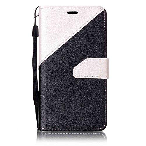 Nancen Compatible with Handyhülle Galaxy A3(2016) / SM-A310F (4,7 Zoll) Hülle PU Leder Tasche Schutzhülle Flip Case Wallet für, Magnetverschluss Standfunktion Brieftasche und Karten Slot
