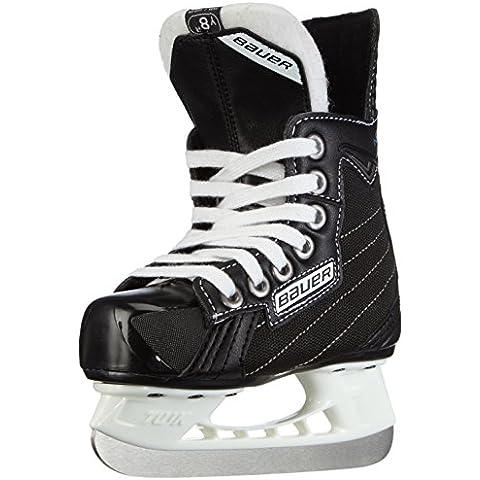 Bauer Schlittschuhe Nexus 30000 Bambini - Patines de hockey sobre hielo, color negro, talla EU 32/UK 13.5
