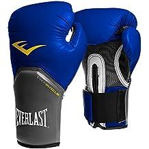 Everlast Pro Style Elite - Guantes de boxeo para entrenamiento, color azul, talla 14 oz