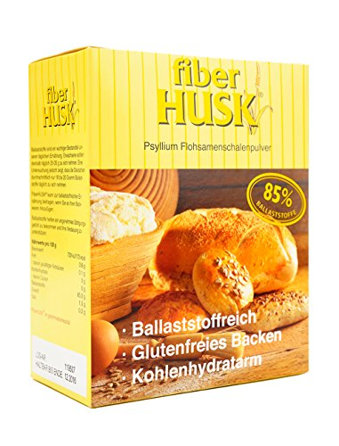 Preisvergleich Produktbild FiberHUSK Flohsamenschalen gemahlen Pulver / Das Original / Exklusive QUALITÄT / Glutenfrei / LowCarb / Höchste REINHEIT - mindestens 99%