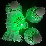 Farshop, Scarpe da Badminton Verde Verde 4 Pezzi