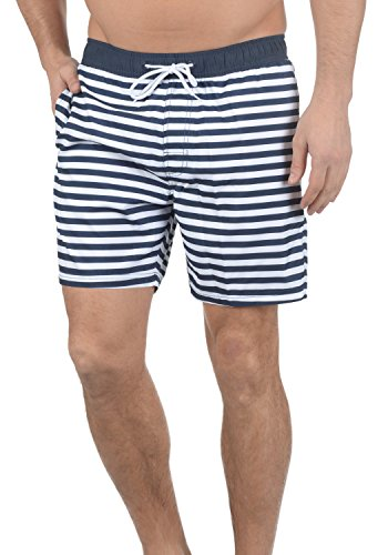 BLEND Leo Herren Badeshorts Badehose Swim-Shorts Navy (70230)