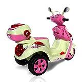 inder Elektroroller C118 für Ihre Kids Elektro Kinderroller Kinderfahrzeug (pink) -