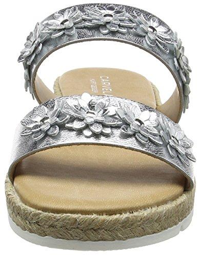 Carvela Damen Klaim Np Sandalen Silber (Silver)
