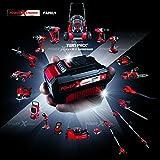 Einhell Akku Radio TE-CR 18 Li Solo Power X-Change (Lithium Ionen, 18 V, AUX inklusive Anschlusskabel für Handy, MP3-Player, ohne Akku und Ladegerät) - 7