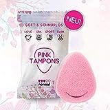 PINK TAMPONS - 11 Stück - Perioden Schwamm, Schwammtampon, SPORT, SWIM, SPA LOVE | Made in Germany