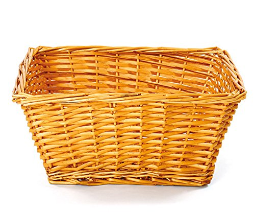 Large Willow Hamper Basket with Fabric Lining