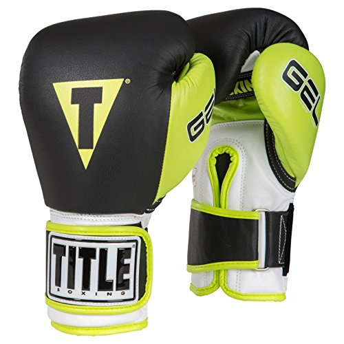 TITLE GEL WORLD V2T BAG GLOVES Black/Lime L