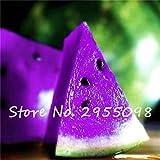 50pcs Vert Flesh Pastèque Graines Japon Eau Melon bonsaï Graines de plantes en intérieur Savoureux comestibles Légumes Fruits Graines gratuit Shippin 2