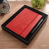 notebook, pelz, weiche rinde business conference arbeit notebook lernen verdickung,red c