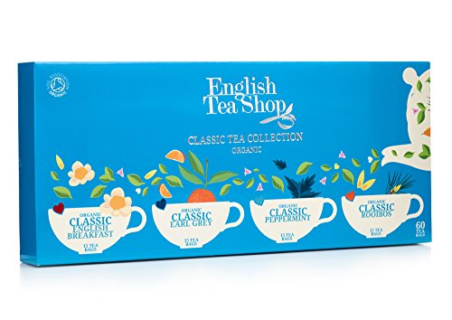 English Tea Shop Organic Classic Tea Collection (Pack of 60 Tea Bags)