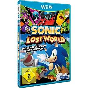 Sonic Lost World – Die Schrecklichen Sechs – Edition – [Nintendo Wii U]