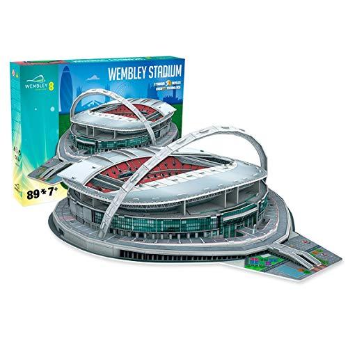 Estadio de Wembley - Nanostad - Puzzle 3D (Producto Oficial Licenciado)