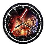 Star wars Wanduhr aus Kunststoff