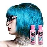 X2 Tinte Capilar Semi-Permanente Crazy Color 100ml (Bubblegum Blue - Azul)