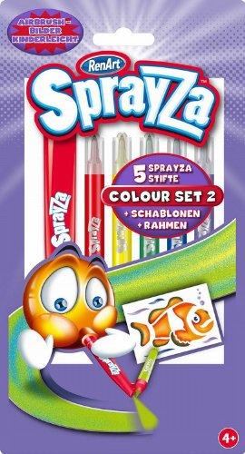 Imagen principal de RenArt RA22010  - Juego de rotuladores SprayZa, varios colores [importado de Alemania]