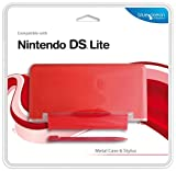 Cheapest Blue Ocean Accessories  Red Metal Case and Stylus for DS Lite (DS) on Nintendo DS