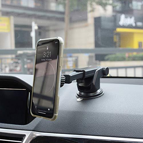 Yaoaomon W16-4 Ausziehbarer Autokonsolenhalter Magnetischer Autotelefonständer schwarz -