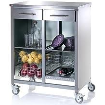 Suchergebnis auf Amazon.de für: küchenwagen edelstahl | {Küchenwagen schmal 52}