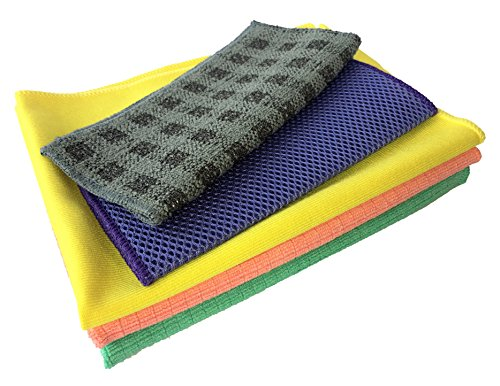 ultimate-kitchen-microfibre-cleaning-cloths-5pc-set-including-lint-free-glass-windows-cloth-2-tea-to