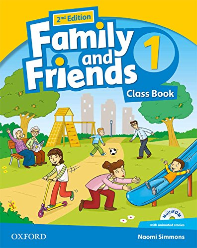Family and Friends 2nd Edition 1. Class Book Pack