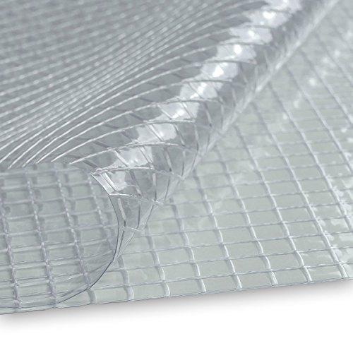 Basic Lysel® PVC Gitterplane Gewächshausfolie 0,50mm Frühbeet Treibhaus 200cm breit UV-beständig