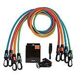 Fascia di Resistenza Allenamento di Forza Corda Elastica in Lattice, Attrezzatura Fitness per Uso Domestico Adatta per Fitness, Yoga, Pilates