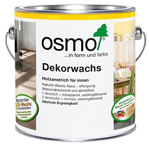 OSMO Dekorwachs Transparent 375ml Nussbaum 3166
