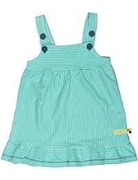 loud + proud Baby-Mädchen Kleid, Ringel