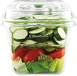 Foodsaver FFC008X Recipiente para envasar al vacío, 1,9 L, 1.8 litros, 0 Decibelios, Plástico, Transparente y verde