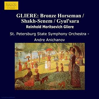 Gliere: Bronze Horseman / Shakh-Senem / Gyul'Sara di St. Petersburg State  Symphony Orchestra su Amazon Music - Amazon.it