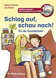 Schlag auf, schau nach!. Wörterbücher und Hefte für die Grundschule / Schlag auf, schau nach! - Wörterbuch für die Grundschule mit CD-ROM, ... alle Bundesländer außer Bayern