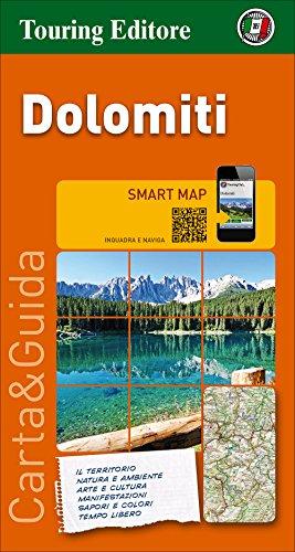 Descargaz Dolomitas  Mapa De Carreteras Impermeable