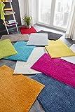 Grund Badteppich 100% Baumwolle, ultra soft, rutschfest, ÖKO-TEX-zertifiziert, 5 Jahre Garantie, MANHATTAN, Badematte 60x90 cm, gelb
