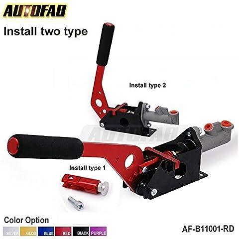 valoxin (TM) autofab–Leva freno a mano idraulico Drift E-Brake verticale orizzontale corsa Rosso 2type af-b11001-rd - Staffa Maestro