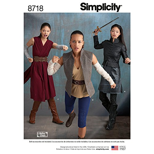 Simplicity Creative Patterns US8718R5 - Fantasy Krieger Kostüm